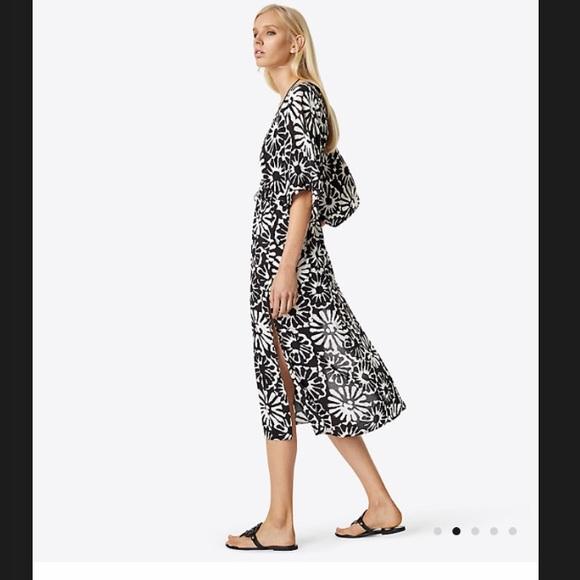 0572ad55256ec Tory Burch Dresses   Pomelo Floral Beach Dress Size Small   Poshmark